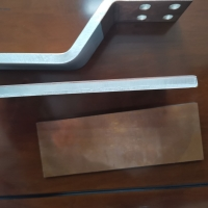 Buy cheap Titanium Aluminum 500mm Heat Conduction Cathode Plate product