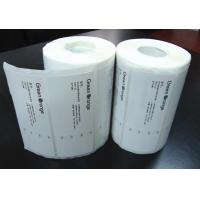 Buy cheap Adhesive Blank Sticker Labels , Permanent Thermal Transfer Labels product