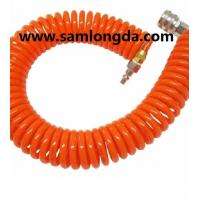 Buy cheap PU spiral hose with good quality, air hose,PU coil tube, PU hose, polyurethane hose,PUC1208, Color as request product