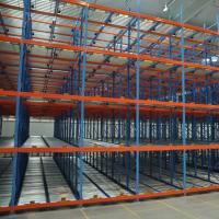 Buy cheap Roller Conveyor Stacking Pallet Storage Racks / Steel Material Pallet Racking System product