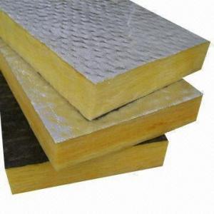 Buy cheap Fiberglass Wool Board with Aluminum Foil product
