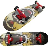"Wholesale 31*8"" canada maple skateboard made in China"