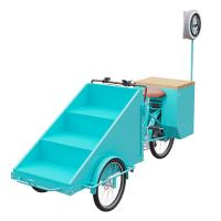 Buy cheap Easy Operating Scooter  Vending Cart With Folding Worktable CE Certification product