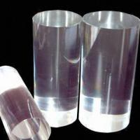 Buy cheap Round High-transparent Plexiglass Rod with Polished Surface Finish, Measures 8 to 200mm product