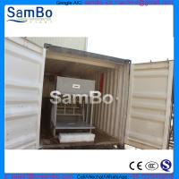 China containerized block ice machine 1T/D commercial industrial ice block plant ice storage on sale