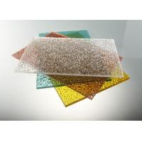 Buy cheap Good Strength Diamond Clear Polycarbonate Sheet / Uv Polycarbonate Panels Color Stable product