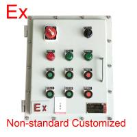 Chemical Industry Explosion Proof Distribution Box , Low Voltage Flame Proof Panel