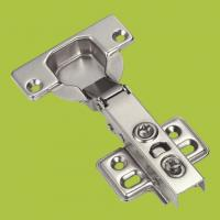 Buy cheap kitchen cabinets accessories full-over type hinge with Nickel finish product