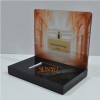 Buy cheap Laser Cutting Craft Cosmetic Display Rack Respectively Perfume Show product