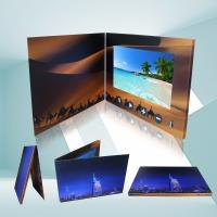 Buy cheap Foil Stamping High Resolution 4.3 Inch HD TFT digital video brochure,video from wholesalers