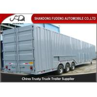 Buy cheap Vehicle Transport Enclosed Semi Trailer , 8-12 Sets Car Carrier Semi Trailer product