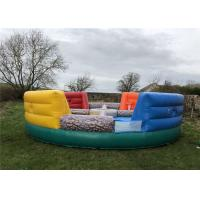 Buy cheap Quick Setup Inflatable Sports Arena 8 Meters Dia Customized With Air Blower Repair Kit product