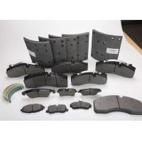 Buy cheap Truck And Bus Drum Brake Linings 0.35~0.45 Friction Coefficient Customized Packaging product
