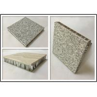 Basalt Stone Aluminium Honeycomb Panel With Edge Sealed For Indoor Decoration