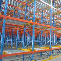 Buy cheap Multi Tier Pallet Live Racking Powder Coating Surface With Rollers / Rails product