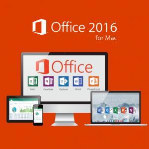 Buy cheap Multi Language Microsoft Office For Mac Key Code 2016 Professional Plus product