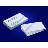 Buy cheap Re-transfer cleaning cards/card printer Adhesive Cleaning Card/DNP cleaning cards/JVC adhesive cleaning cards product
