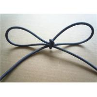 Buy cheap Blue 3Mm Waxed Cotton Cords / Elastic Drawstring Cord Polyester product