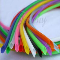 Odorless High Temp Silicone Tubing Food Grade Round Shaped For Medical Devices
