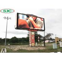 Buy cheap SMD P10 1/2 Scan High Resolution Outdoor LED Display Screen Fixed Beautifully from wholesalers