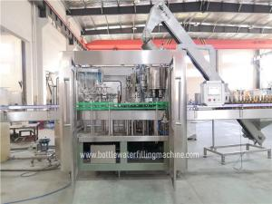 Buy cheap 3000bph 20cl Automatic Pet Bottle Soda Filling Machine product