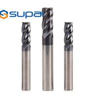 Buy cheap 0.2-20mm Carbide Square End Mill For Metal Wood Tin AlTin NANO Coating product