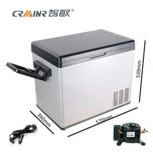 Buy cheap Anti - Vibration Mini Car Refrigerator , 50L Portable Mini Fridge For Camping product