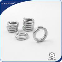 Buy cheap Din127 High Tensile Washers Bright / Yellow Zinc / Black Color M6~42 product