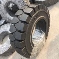 China Solid forklit tire 6.50-10, high quality solid tire 650-10, industry solid tire 6.50-10 black nylon tire on sale