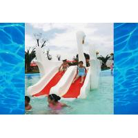 Buy cheap Indoor or outdoor White Swan Fiberglass Slide, Water Amusement Park kids Water from wholesalers