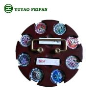 Buy cheap SGS Approval Customized 200 Pcs Casino Poker Chip Sets With Round Wooden Tray product