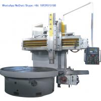 Buy cheap Automatic Vertical Turning Lathe Machine , High Precision CNC Vertical Lathe Machine product