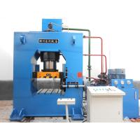 Buy cheap Multi Directional 40 Ton Hydraulic Press , Steel Extrusion Press For TubeFitting product