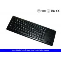 Buy quality Plastic Industrial Computer Keyboard With Function Keys And Integrated Trackball at wholesale prices
