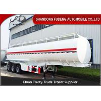 Buy cheap 12 wheels carbon steel fuel tanker semi trailer with 42000 Liters capacity product