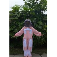 Buy cheap Pink Vented Bee Uniform Beekeeping Protective Clothing With YKK Zipper product