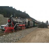 Buy cheap Excursion Tourist Train Rides Steam Train Rides For Kids 1 Year Warranty from wholesalers