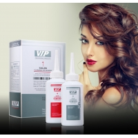 Buy cheap VIP Branded Natural Curly Hair Permanent Hair Cold perm Wave Lotion Private Label product