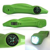Buy cheap Green ABS Digital Tire Pressure Gauge With Flashlight , Warning Light 5-150PSI product