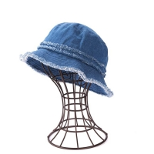 Buy cheap Casual Denim Fabric Fisherman Bucket Hat For Coastal Beach product