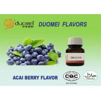 Buy cheap Food Beverage Ice Cream Grade Synthetic Flavours Real Natural Acai Berry product