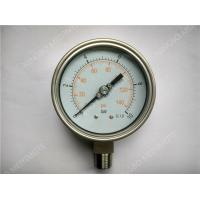 """Buy cheap 4""""(100mm) All Stainlee Steel Liquid Pressure Gauge with Welding Connector product"""