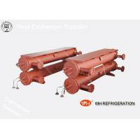 Buy cheap Marine Shell And Tube Type Heat Exchanger , R410A Water Cooled Condenser product