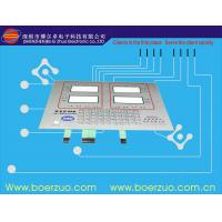 Buy cheap Customized Backlit Membrane Switch , Metal Dome Membrane Switch Overlay product