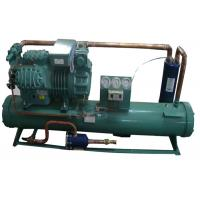 Buy cheap 4HE-25Y 25HP Water Cooled Condensing Units , Freezer Condenser Unit High Efficiency Tube Heat Exchanger product