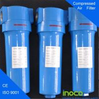 Buy cheap BOCIN Hydraulic High Pressure Gas Filters For Air Purification / Water Treatment product