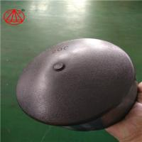 Buy cheap HDPE Butt Fusion End Cap / Pipe End / Pipe Cap ,total raw matrial ,black from wholesalers