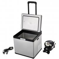 Buy cheap DC 28L Mini Portable Travel Car Refrigerator Cooler Fridge With LCD Touch Screen product