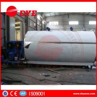 China Large Capacity 2000L 3000L 5000L Milk Cooling Tank Refrigeration Compressor on sale