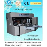Buy cheap Double Roller Carton Making Machine With High Precision Of Die Cutting And from wholesalers
